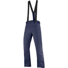 Salomon Stance Pantalones Hombre, azul